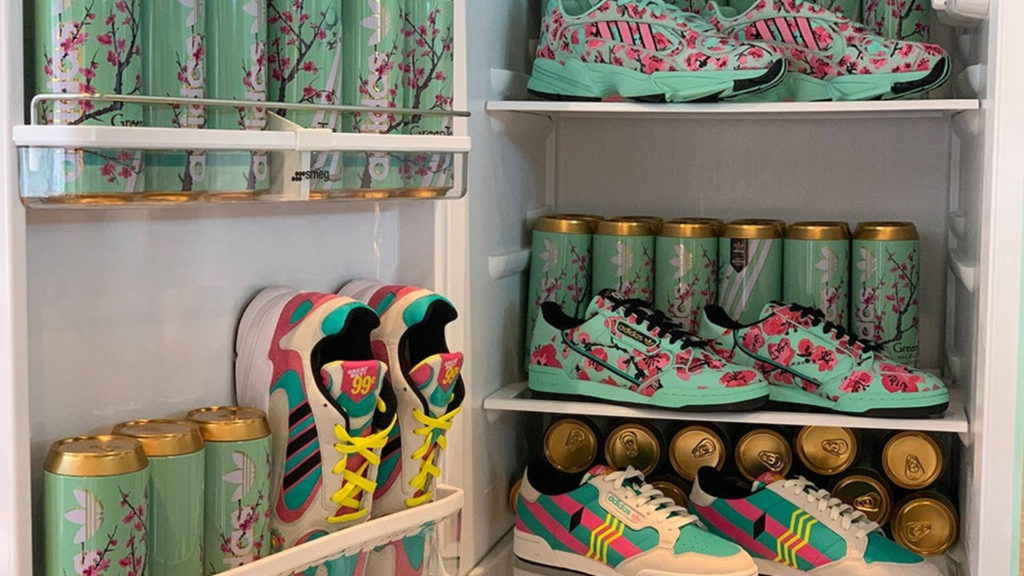 AriZona and Adidas collab