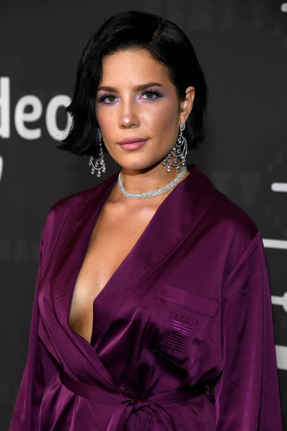 Photo of Halsey via Getty Images