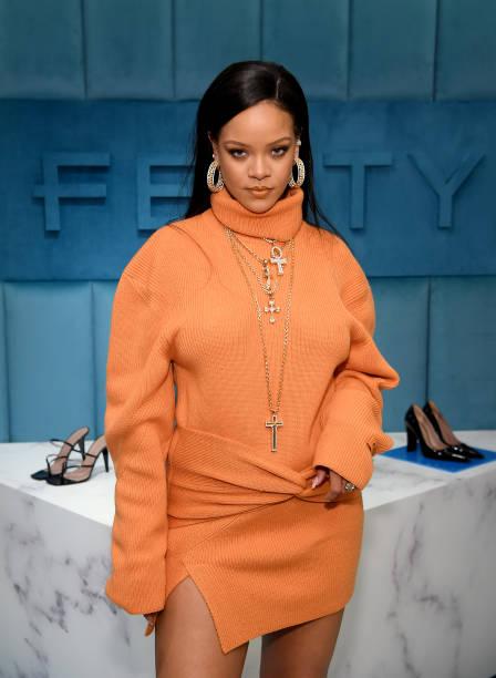 Rihanna image via Getty Images