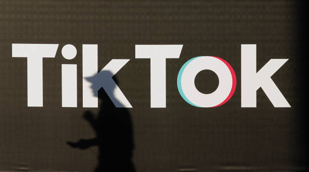 TikTok image via Getty Images