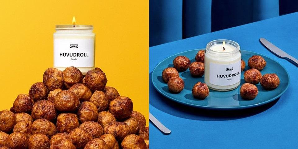 Ikea's meatballs candle advert
