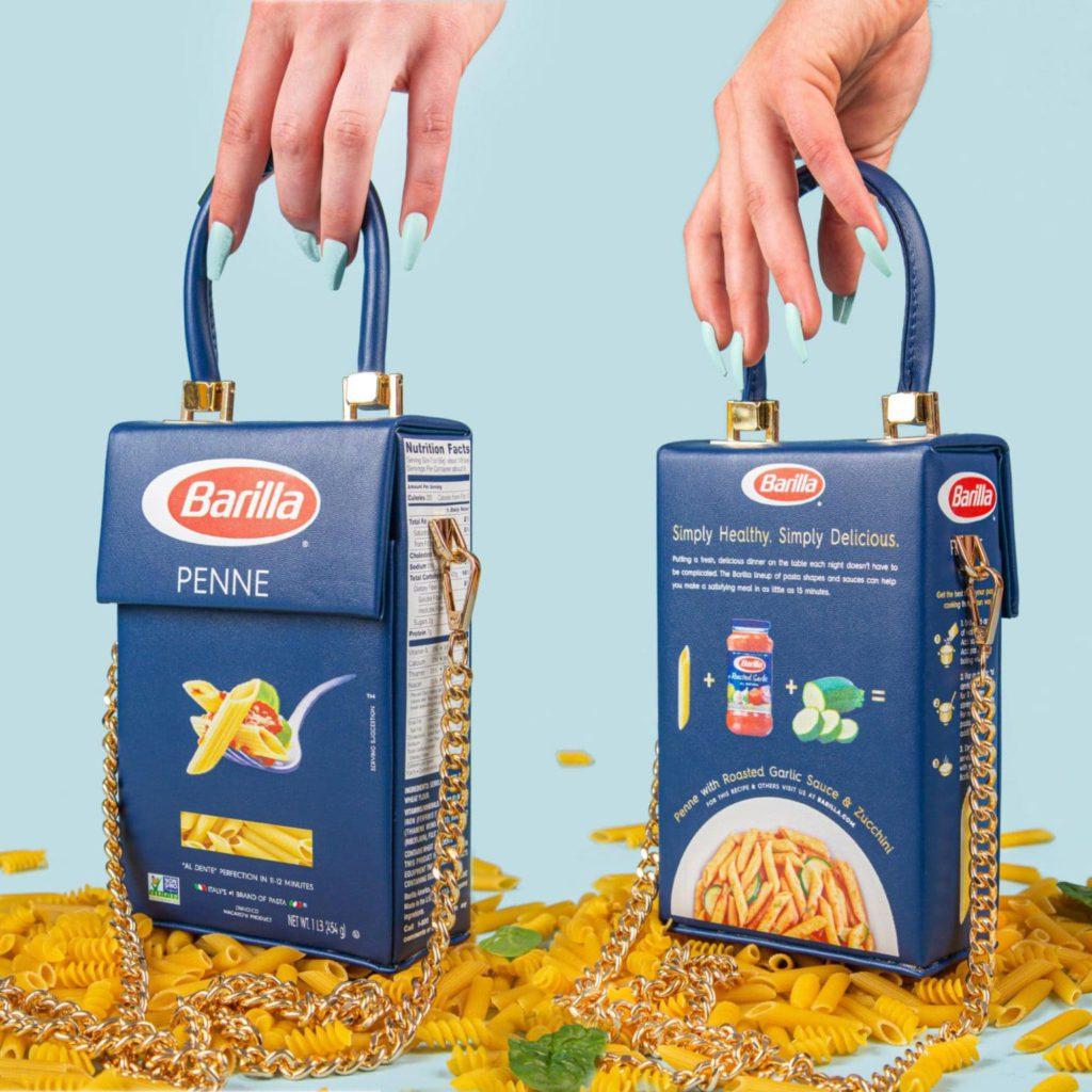 Barilla pasta handbag